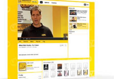 Which Wich is actively engaged in online video marketing to entertain customers.