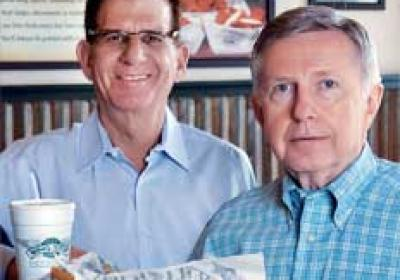 Andy Howard and Jim Flynn have helped Wingstop to fast growth nationally.
