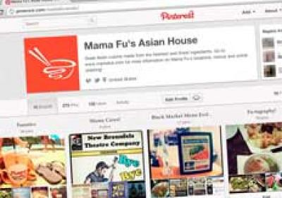 Mama Fu's views its Pinterest account as an extension of its brand.