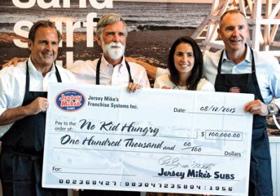 Top QSR chains invest in charity work and community service to support restaurants.