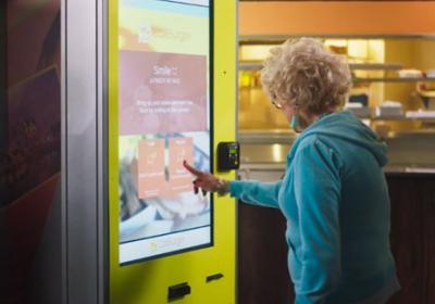 Cali Group has a self-serve kiosk now.
