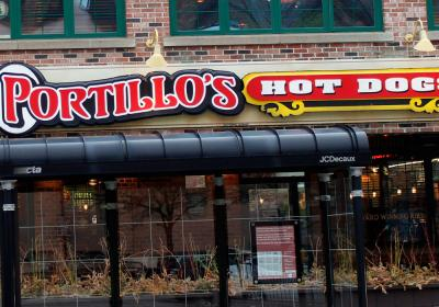 Portillo's Hot Dogs restaurant in Chicago.