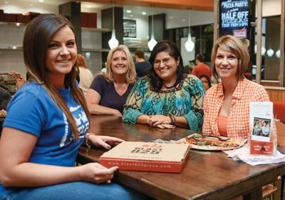 California quick service restaurant concept lets charities raise funds through pizzas.
