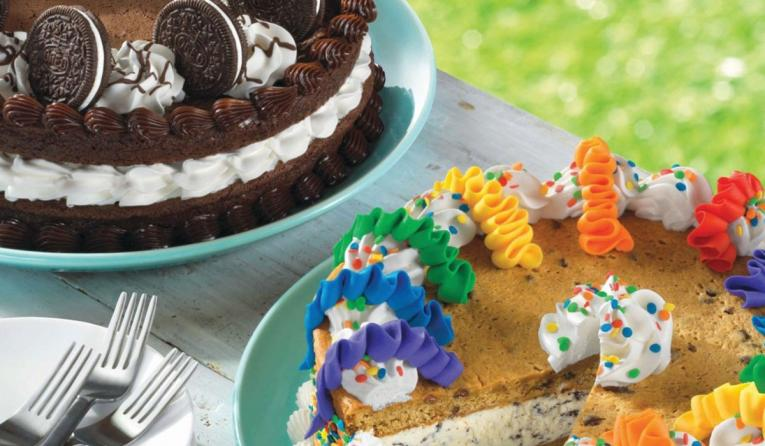 Baskin Robbins Launches Cookie Cakes With Customizable