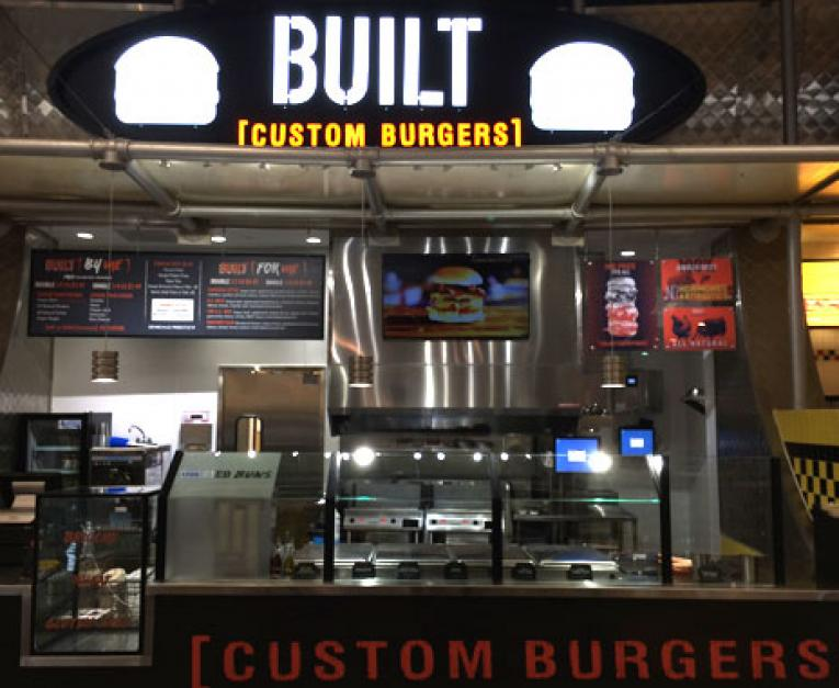Image result for Built Custom Burgers images