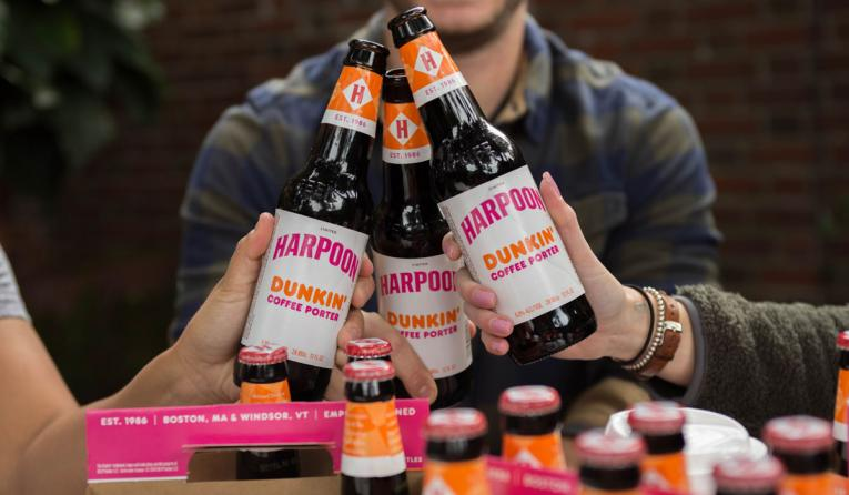 Dunkin And Harpoon Brewery Launch A Coffee Porter