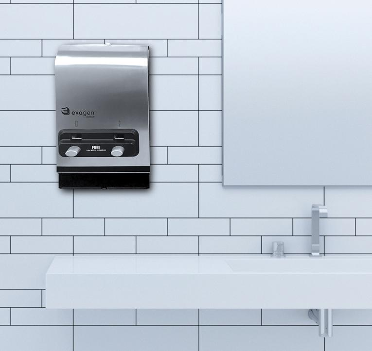 Hospecor Introduces Evogenr Ev2 Pad Tampon Dispenser