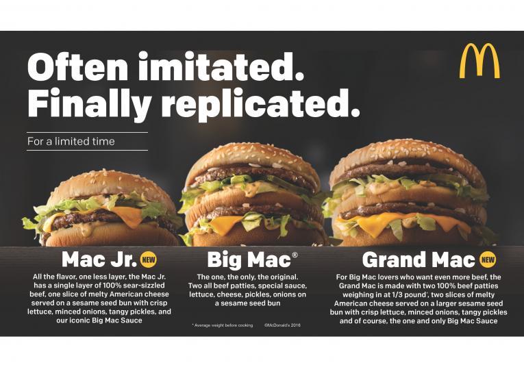 mcdonald s adds new big macs yanks create your taste restaurant