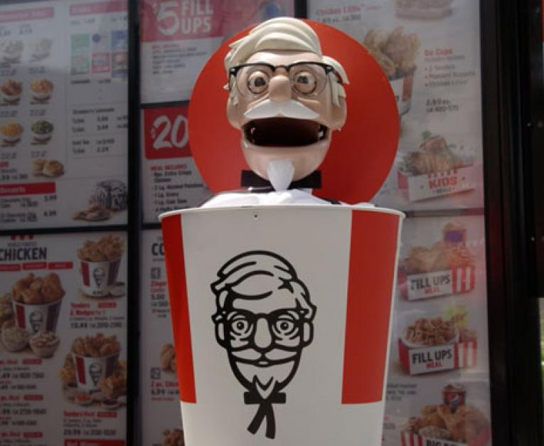 Robot Colonel Sanders Comes To Kfc For Fried Chicken Day