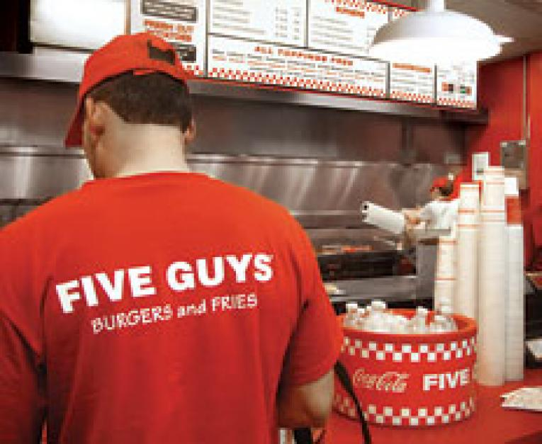 Five Guys Growth Best In Fast Food Industry Qsr Magazine