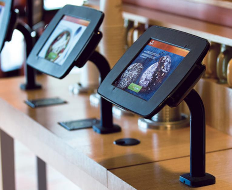 Fast Food Tablet Kiosks Give Chains Fun New Ordering