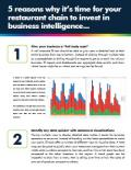 5 Reasons Why Your Restaurant Should Invest in Business Intelligence