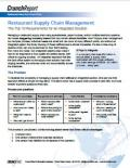 Restaurant Supply Chain Management: The Top 10 Requirements for an Integrated Solution