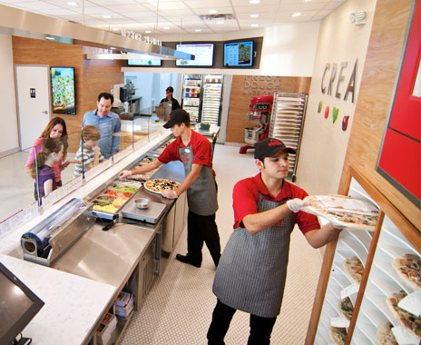 Quick service restaurants attract Gen X, Baby Boomers, Millennials.