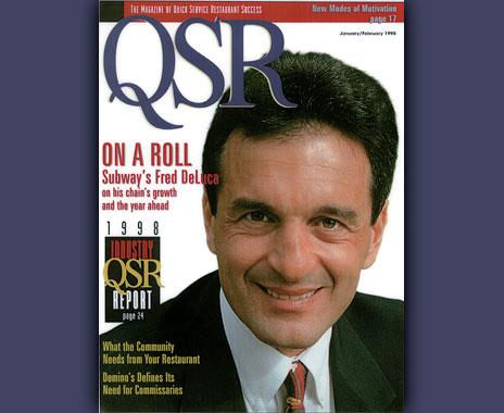 Legendary QSR restaurant leader Fred Deluca died after battle with leukemia